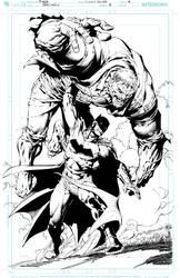 David Finch / Jimmy Reyes Batman2 pg4 High Res by JimmyReyes