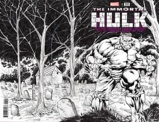 Immortal Hulk #1 by JimmyReyes
