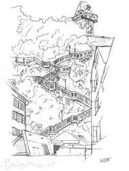 Schlossbergstiege by 5dave