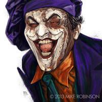 Joker by mrobinson-art