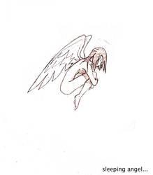 sleeping angel by FacundoDiaz