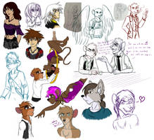 January 2018 Sketchdump by ALS123