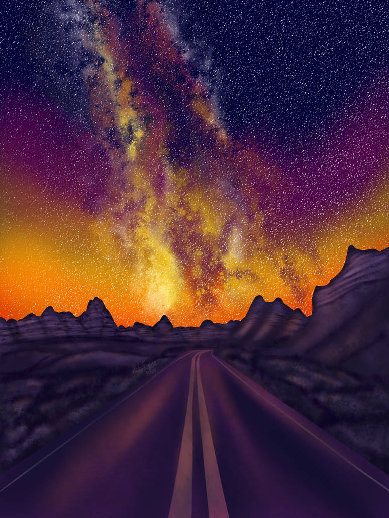 Galaxy Highway by ALS123