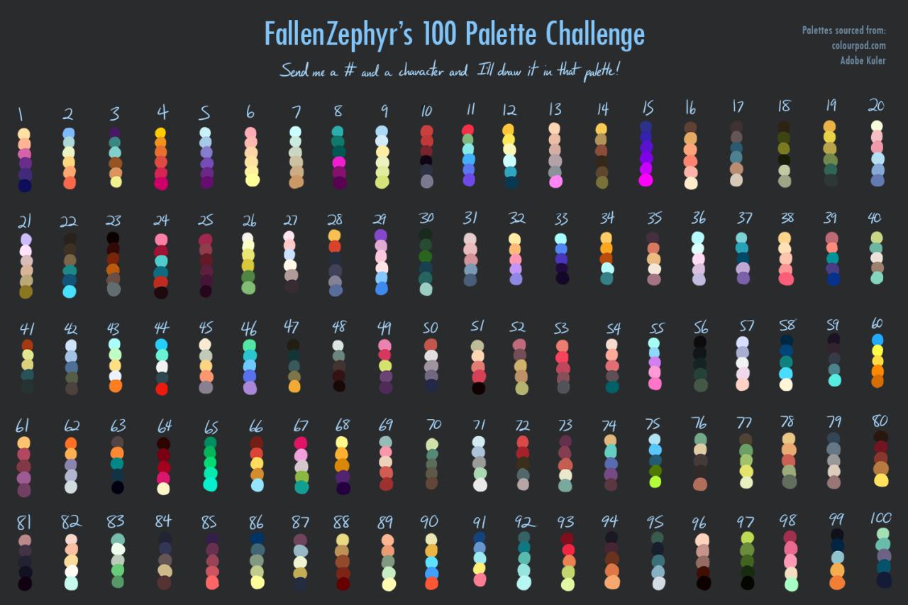 Palette Challenge