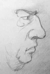 Fictional portrait - profile by Arnilk