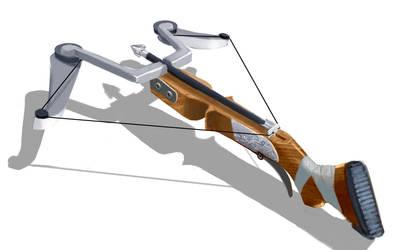 hunter's crossbow by AryanArtHouse