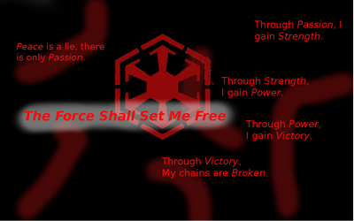 The Force Shall Set Me Free by shadowrunner2323