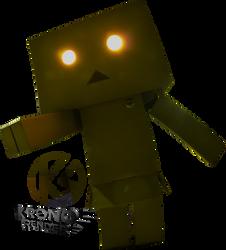 Evil boxman render! by Kronos3051