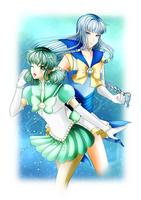 Senshi comm. || S.Constant and S.Moonbeam by BluAjisai