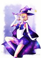 Senshi comm. || Sailor Magic [+ Speedpaint] by BluAjisai