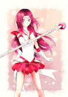 Senshi comm. || Sailor Er Rei [+Speedpaint] by BluAjisai