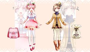 Macaron Fashion batch#03 - CLOSED by BluAjisai
