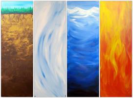 Earth, wind, water and fire by JonasEklundh