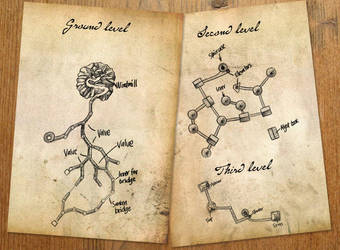 Channelwood map by JonasEklundh
