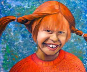 Pippi Longstockings by JonasEklundh