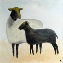 Gotland sheep by JonasEklundh