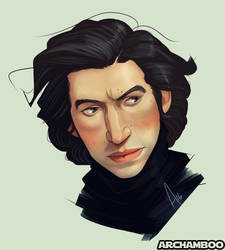 Trouty-Mouth Kylo by mbrisa