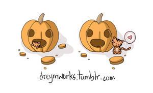 halloween pumpkin by deviantdrey