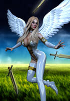 Charity - Holy Swords by prizm1616