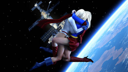 PowerGirl  x Supergirl (Vanity Or Love) by prizm1616