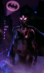 Batwoman Animated Style by BLuLIvE
