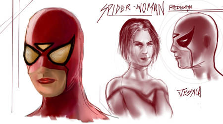 Spiderwoman Concept by BLuLIvE
