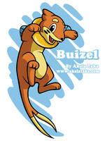 Buizel by akelataka