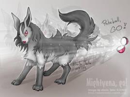 Mightyena - GO by akelataka