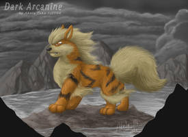 Dark Arcanine by akelataka