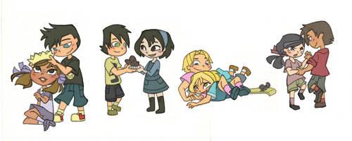 Four little couples by Kikaigaku