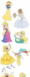 Star Disney Princess  by Kikaigaku
