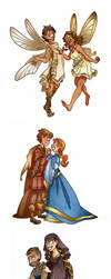 Shakespearean couples by Kikaigaku