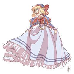 Renaissance Sailor Dress by Kikaigaku