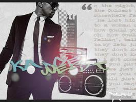 Kanye West by BarbraGolba