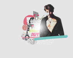 Johnny Depp Wallpaper by BarbraGolba