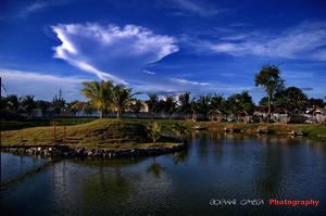 Mactan Fishing Lake by vantoytoy