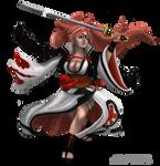 Baiken (Game-Art-HQ Project) by SUOMAR