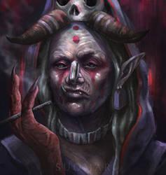 Blood Troll by SUOMAR