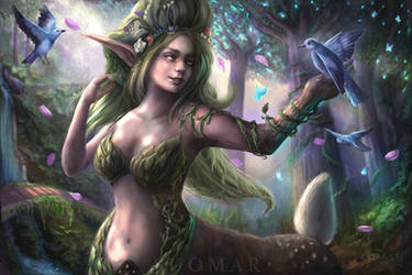 Opa the Dryad by SUOMAR
