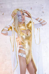 Cosplay Emma Frost - Phoenix Five by Nagy-May