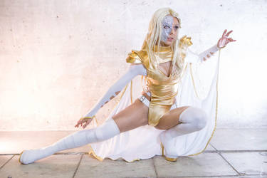 Cosplay Emma Frost - (Phoenix Five) by Nagy-May