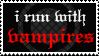 Stamp - I run with... by XxSafetyPinsxX