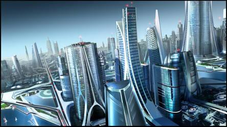 Future City Too by RobertDBrown