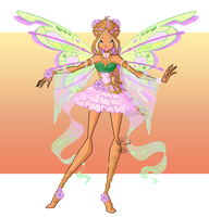 [WINX] - Flora Nymphix Transformation by FlareViper