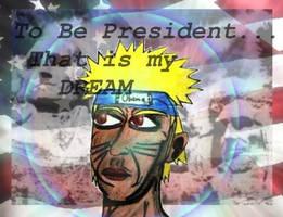 Obama Turned Naruto by Dokukugutsu