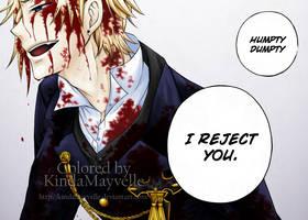 Pandora Hearts - I Reject You by KindaMayvelle