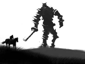 Shadow of the Colossus by aTmGuy1536