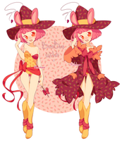 BunBun Witch adopt auction [CLOSED] by madichams