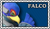 |Super Smash Bros. Ultimate - Falco Stamp by mef42