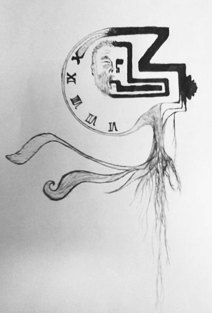 Untitled Drawing 2 by KevinStephens